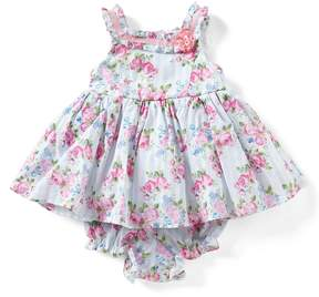 Laura Ashley London Baby Girls Newborn-24 Months Sleeveless Floral-Print Dress
