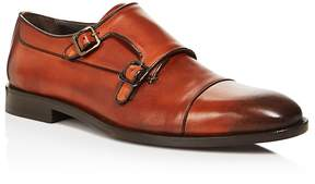 Canali Stock Double Monkstrap Loafers