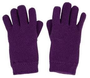 Loro Piana Knit Cashmere Gloves