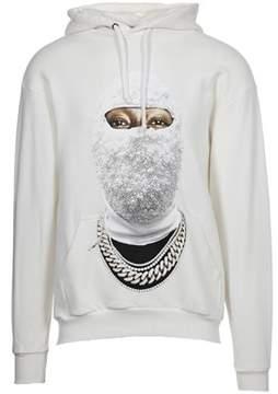 Ih Nom Uh Nit Men's White Cotton Sweatshirt.