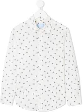 Lanvin Enfant spider print shirt