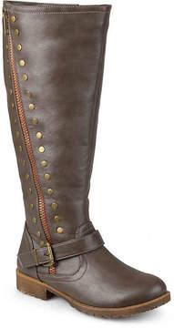 Journee Collection Women's Tilt Wide Calf Riding Boot