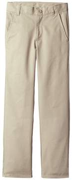 Nautica Slim Flat Front Twill Double Knee Pants Boy's Casual Pants