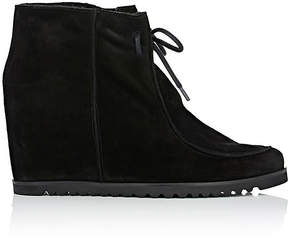 Barneys New York Women's Shearling-Lined Wedge Ankle Boots