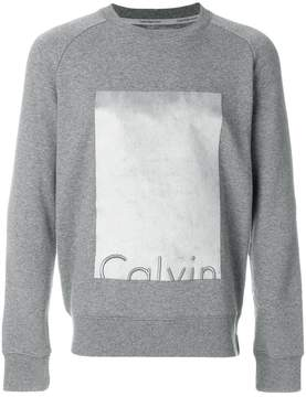 Calvin Klein Jeans embroidered logo sweatshirt
