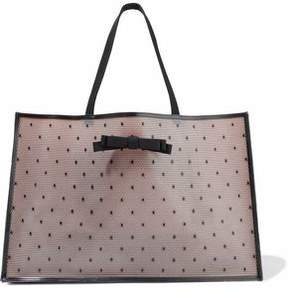 RED Valentino Bow-Embellished Rubber Tote