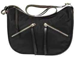 Borbonese Women's Black Polyester Shoulder Bag.
