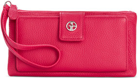 Giani Bernini Softy Grab & Go Leather Wallet & Wristlet, Created for Macy's