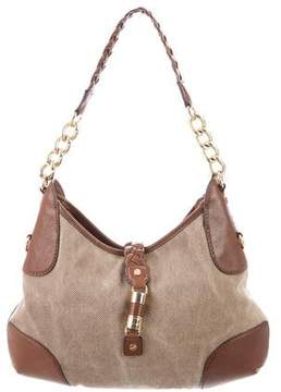 MICHAEL Michael Kors Leather Trim Textured Bag