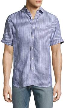Gilded Age Men's Houston Striped Sportshirt