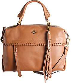 As Is orYANY Pebble Leather Convertible Satchel - Toni