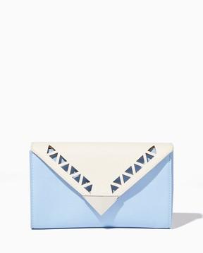 Charming charlie Maura Geo Flap Wallet