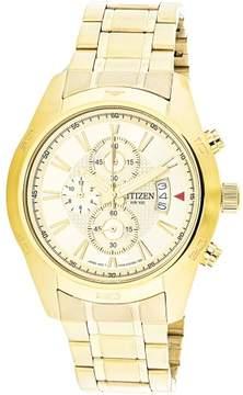 Citizen Men's AN3542-53P Gold Stainless-Steel Japanese Quartz Dress Watch