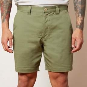 Blade + Blue Olive Cotton Stretch Twill Shorts