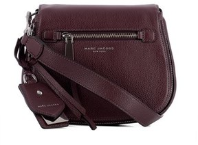 Marc Jacobs Women's Purple Leather Handbag. - PURPLE - STYLE