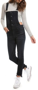 PRPS Women's Slim Denim Overalls