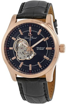 Lucien Piccard Morgana Open Heart Mechanical Hand Wind Men's Watch