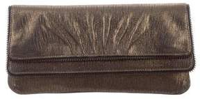Lauren Merkin Iridescent Leather Clutch