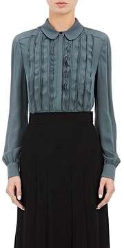 Valentino Women's Silk Long-Sleeve Blouse