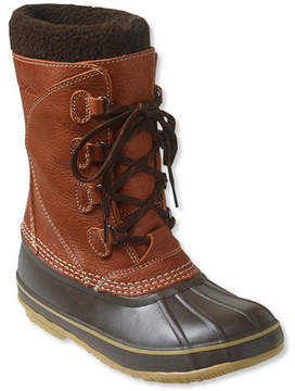 L.L. Bean Women's L.L.Bean Snow Boots, with Tumbled-Leather