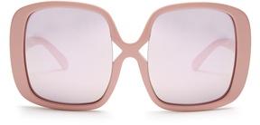Karen Walker Marques oversized mirrorred sunglasses