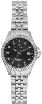 Croton Women's Heritage Diamond Stainless Steel Watch