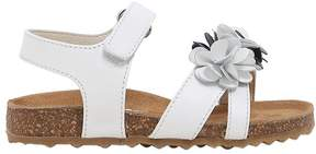 Il Gufo Floral Nappa Leather Sandals