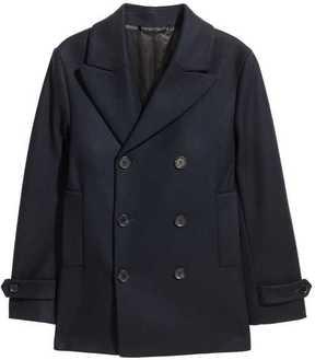 H&M Wool-blend Pea Coat