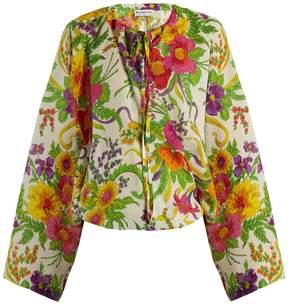 Balenciaga Peignoir blouse