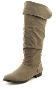 Style&Co. Style & Co Tirza Women Round Toe Synthetic Gray Knee High Boot.