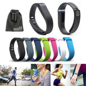 Fitbit EEEkit EEEKit 7 Pcs Coloreful LARGE Size Replacement Wrist Band w/Clasp for Flex Bracelet