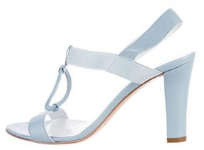 Bruno Magli Leather Slingback Sandals