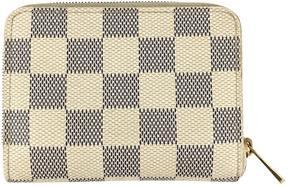 Louis Vuitton Zippy cloth wallet - WHITE - STYLE