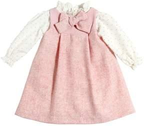 La Stupenderia Felt Wool Dress & Poplin Shirt