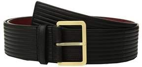 Calvin Klein Padded Belt w/ Eyelets Women's Belts
