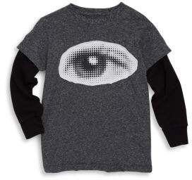 Nununu Toddler's & Little Boy's Eye Patch Cotton Tee