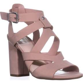 Bar III B35 Mae Strappy Sandals, Blush.