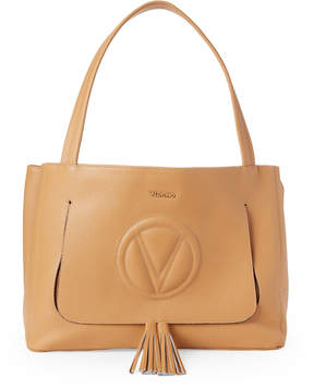 Mario Valentino Valentino By Biscuit Ollie Leather Shoulder Bag