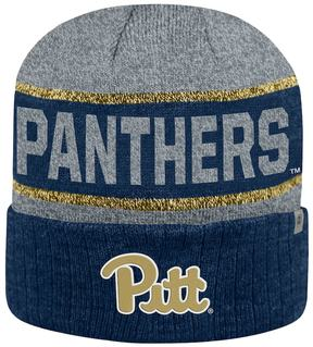 Top of the World Adult Pitt Panthers Below Zero II Beanie