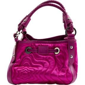 Montblanc Pink Cloth Handbag