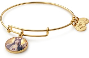 Alex and Ani Our Lady as Queen of Heaven and Earth Charm Bangle