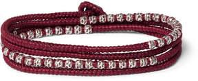 M. Cohen Silver Cord Bracelet