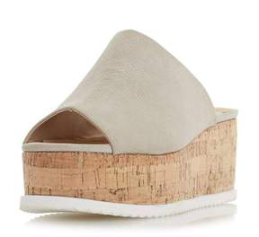 Head Over Heels *Head Over Heels by Dune 'Kezzia' Grey Wedge Sandals