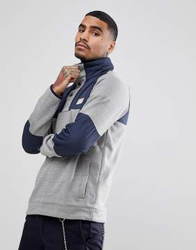 Element Sweat With Contrast Panels In Gray