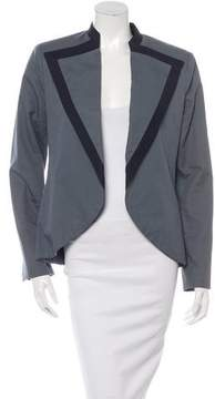 Timo Weiland Collared Open Front Blazer