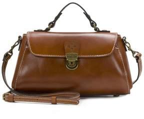Patricia Nash Castile Leather Crossbody Baguette