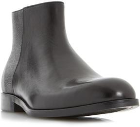 Dune London MALIK - BLACK Mixed Texture Boot