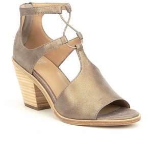 Eileen Fisher Lou Metallic Suede Dress Sandals