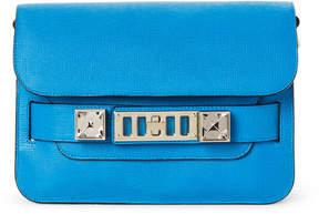 Proenza Schouler Blue PS11 Mini Classic Linosa Leather Shoulder Bag