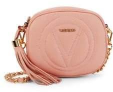 Mario Valentino Tassel Leather Crossbody Bag